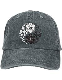 Rghkjlp Mazmorras y Dragones Yin Yang Unisex Gorras de béisbol Ajustables  Sombreros de Mezclilla Cowboy Sport 29dbb2d8a2a