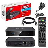 MAG 420 Original Infomir & HB-DIGITAL 4K IPTV Kit TOP Box Multimedia Player