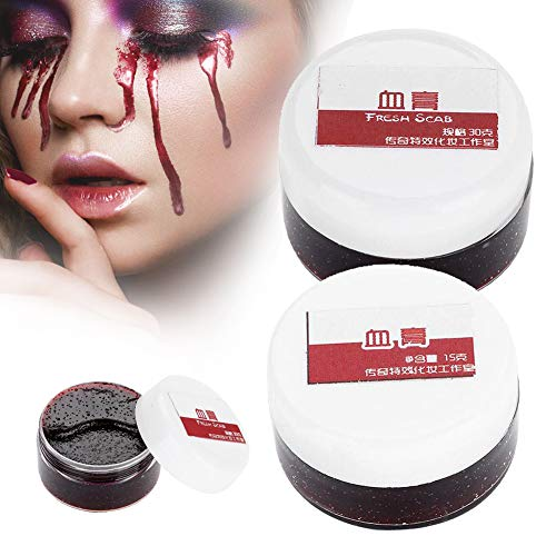 sicht Gefälschte Blut Gel Körper Öl Koagulum Falsche Blut Gel Narben Künstliche Gefälschte Blut für Halloween-Abendkleid Party Vampire Hexen (15ML) ()