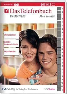 Das Telefonbuch Deutschland Herbst/Winter 2011
