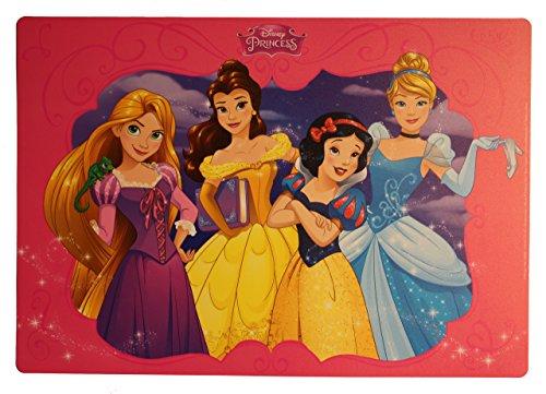 Diversi Disney, tovagliette/tovagliette/dipinti,/sotto situazione per impastare/tovaglietta, Plastica, Principessa, 4 pezzi