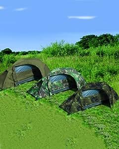 Mil-Tec einmann Tente ′ recom ′ Tente, Olive, 240x 135x 85cm