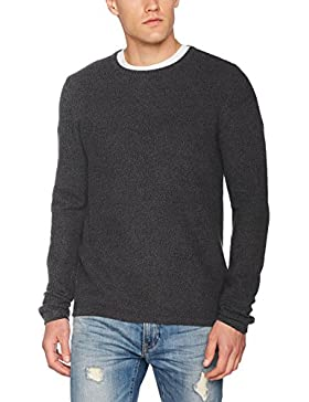 Tom Tailor Basic Crew Neck Sweater, Felpa Uomo