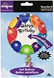 Amscan International Happy Bday Personalized