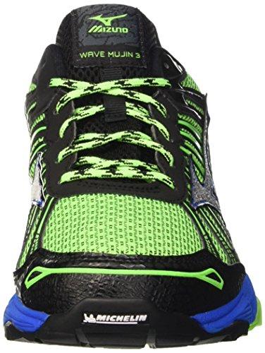 Mizuno Wave Mujin G-tx, Chaussures De Course À Pied Homme Vert (greengecko / Argent / Skydiver)