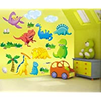 e-baby-store Large Dinosaur Dino Prehistoric Wall, Furniture Stickers For Nursery, Childrens, Baby, Childs, Kids, Boys, Girls Bedroom, Playroom. Decals, Stickarounds, Murals, Wallpaper, Adhesives.
