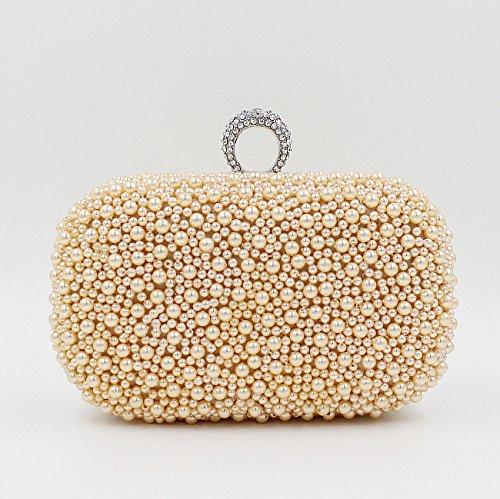 2016 nuova moda Pearl anelli la borsa