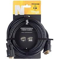 Stagg 215475m DVI-D macho Dual Link conector chapado en oro Audio/cable de vídeo