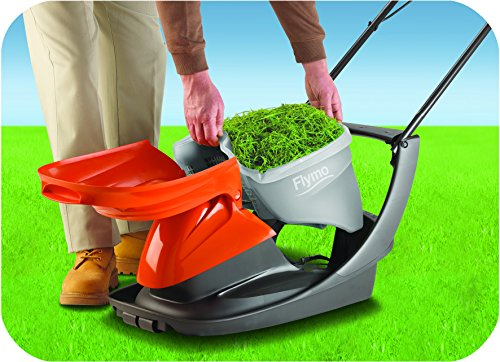 Flymo Easi Glide 300 Electric Hover Collect Lawnmower 1300W – 30cm
