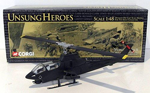 Corgi 1/48 Scale Diecast US51203 - AH-1G Cobra - US Army 4th Aviation  Battalion
