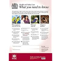 The Official Health and safety law poster: what you need to know (Laminated A3 Version)