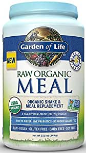 Garden of Life, Raw Meal, Beyond Organic Meal Replacement Formula, Vanilla 949g
