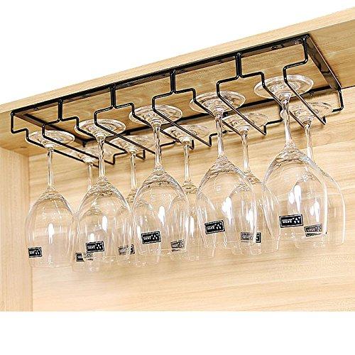 Gläserhalter Gläserschiene Weinglashalterung edelstahl Champagner Cup Hangers Rack Halter mit...