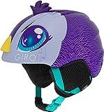 Giro Launch Plus Youth Snow Helmet, Purple Penguin, X-Small (48.5-52 cm)