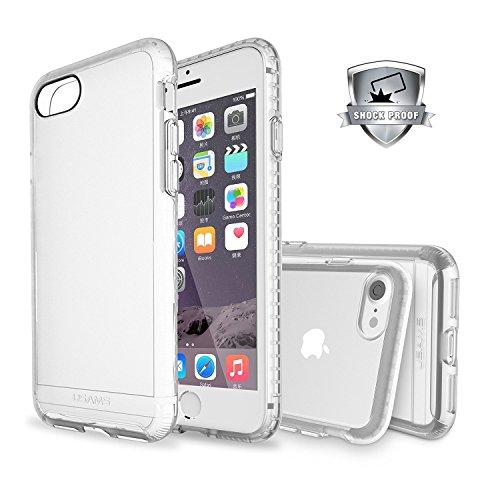 Jelly Comb iPhone 7 Plus custodia case cover protettiva antiurto, Trasparente