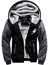 Hiver Sweat à capuche Hoodie Cosplay Costume Homme Sweat-shirt Raglan Padded Pull Veste Épais Manteau Adulte Halloween