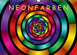 Neonfarben / AT-Version (Wandkalender 2018 DIN A3 quer): Ein Kalender für junge und junggebliebene Leute (Monatskalender, 14 Seiten ) (CALVENDO Kunst) [Kalender] [Apr 01, 2017] Art, gabiw
