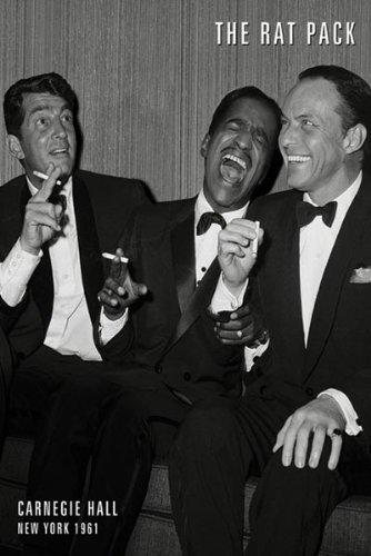 Poster Sinatra Frank (The Rat Pack Poster Carnegie Hall 1965Frank Sinatra)