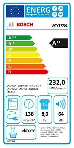Wärmepumpentrockner Bosch WTY87701 - 2