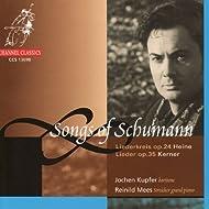 Songs Of Schumann: LiederKreis Op. 24 & Lieder Op. 35