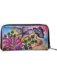 LEATHER MADE Women's Wallet (Multi-Coloured, EG0200.02)