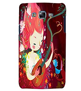 Citydreamz Guitar/Music/Instruments Hard Polycarbonate Designer Back Case Cover For Samsung Galaxy J7