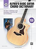 Best Alfred Music Dictionaries - Alfred's Basic Guitar Chord Dictionary: The Most Commonly Review