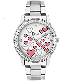 Cavalli Analogue White Red Hearts Love Dial LA Valentine Women'S And Girl'S Watch (Cs0135)