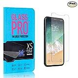The Grafu® iPhone 11 Pro 5.8 Displayschutzfolie, 9H Härte Displayschutz, 99% Transparente, 3D Touch Schutzfilm aus Gehärtetem Glas für iPhone 11 Pro 5.8, 1 Stück