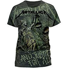 T-Shirt (S) Justice Neon All-Over (Unisex)