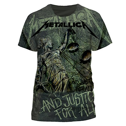 T-Shirt (X) Justice Neon All-Over (Unisex)