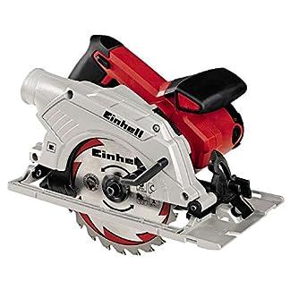 Einhell Softgriff, Alu-Sägeschuh Sierra Circular TE-CS 165 Potencia 1200 w, 230 V, Rojo