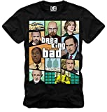 E1SYNDICATE T-SHIRT BREAKING BAD HEISENBERG BETTER CALL SAUL LOS POLLOS COOK NERO S-XL