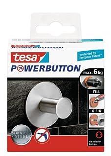 tesa 59330-00000-00 Gancho, soporta 5-8 kg, Cromo (B0081EEVP2) | Amazon Products