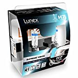 LUNEX H7 SUPREME VISION Ampoules Halogenes Phare Blanche 477 12V 55W PX26d 3700K...