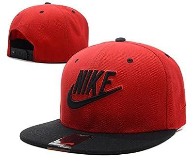 2016 Fashion Nike Standard Hip-Hop / Kappen (rot, schwarz Rand)