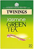 Twinings - Tè verde al gelsomino, 20 bustine (4 confezioni, tot. 80 bustine), 160 g
