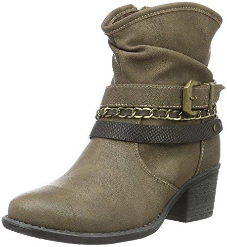 Jane Klain - Stiefelette, Stivali a metà gamba con imbottitura pesante Donna Beige (Beige (280 Stone))