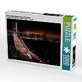 Bay Bridge puzzel bij nacht
