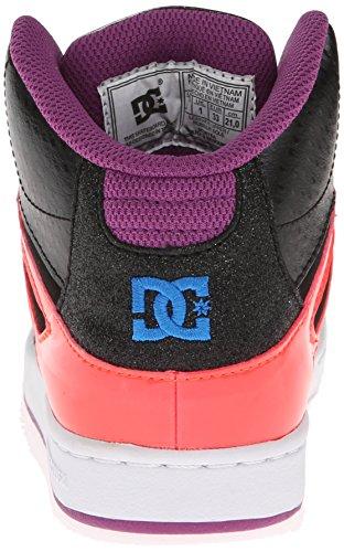 DC Shoes Rebound, Baskets mode garçon Noir