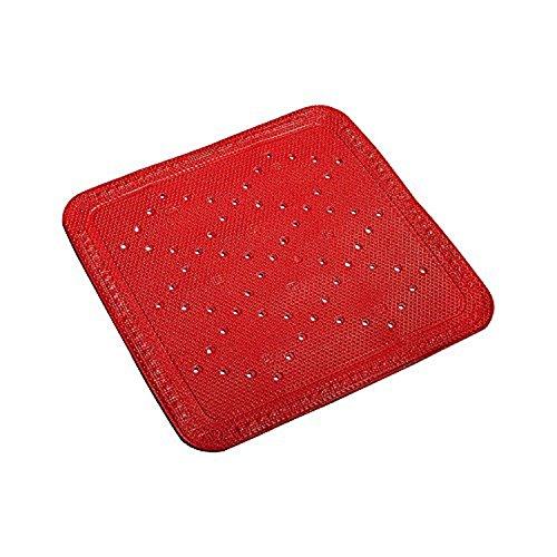 Kleine Wolke 4325425002 Duscheinlage Calypso, 55 x 55 cm, tomate