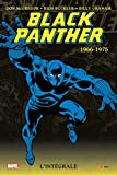 black panther int?grale t01 1966 1975