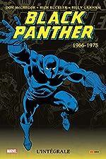 Black Panther intégrale T01 1966-1975 de Billy Graham