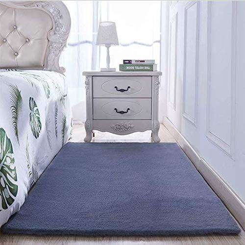 lafzimmer Nacht Teppich Wohnzimmer einfarbig b Nachahmung Kaninchen Pelz Carpet Fenster Fenster Carpet 200x300 cm ()