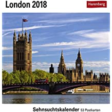 London - Kalender 2018: Sehnsuchtskalender, 53 Postkarten