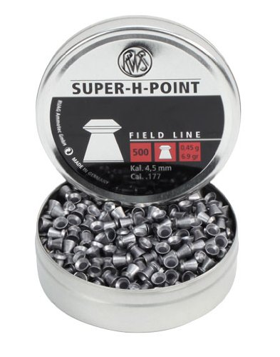 RWS Super-H-Point Diabolo 4,5mm Field Line 0,45g Munition