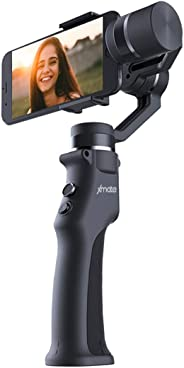 Xmate Cruise 3 Axis Handheld Smartphone Gimbal Stabilizer, Zoom Capability, Object Tracking, Video Edit & Share Support, Action Camera Support, 8 Hours Battery Life (Black)