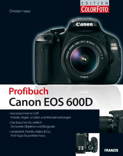 Preisvergleich Produktbild Profibuch Canon EOS 600D