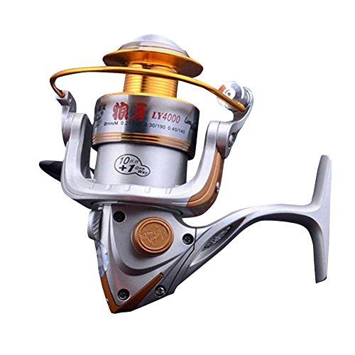 WINBEST Aleación Plata Carretes Pesca LY4000(LY4000)