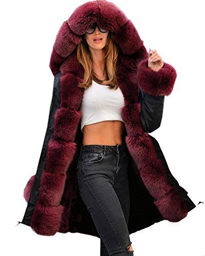 Abrigo de mujer Roiii con capucha